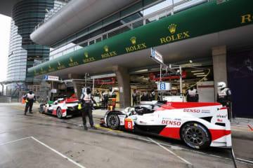 WEC上海:トヨタ、ウエット路面のFP1~2でトップ2堅持。アロンソ「この週末はおそらく激戦になる」