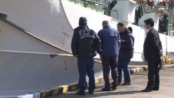 韓国船となぜ衝突? イカ釣り漁船が入港