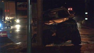 RV車と大型トレーラー衝突 RV車の男性死亡 札幌市北区