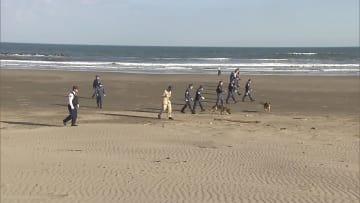 17日も女性の長男を聴取 海岸に女性の切断遺体 千葉