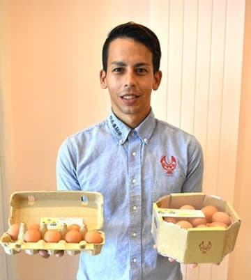29歳 養鶏場経営者の挑戦 甘いブランド卵 おしゃれにかっこよく