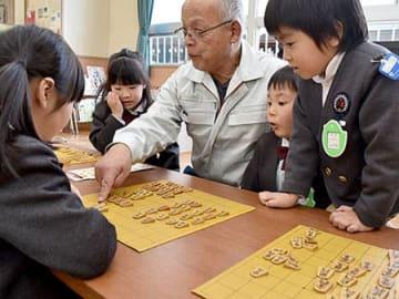 将棋って楽しいね 天童幼稚園で教室