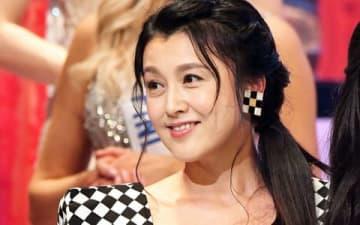 「第58回ミス・インターナショナル世界大会」に審査員として登場した藤原紀香さん