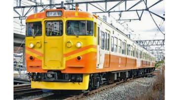 しなの鉄道115系「台鉄自強号色」登場