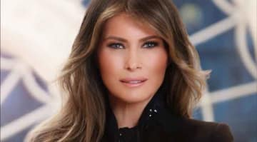 Melania Trump's Official White House Portrait