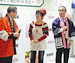 料理愛好家・平野レミさん福島牛絶賛「肉柔らかくておいしい」