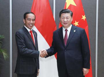 習近平主席、インドネシア大統領と会見 実質的協力に意欲示す