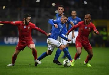 最後まで得点を奪うことができなかったイタリア代表 photo/Getty Images