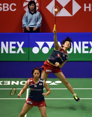 福島·広田組が決勝へ 女子ダブルス バドミントン香港オープン