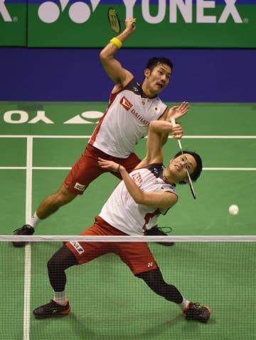 嘉村·園田組が決勝へ 男子ダブルス バドミントン香港オープン