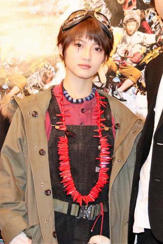 初日を迎えた舞台「鉄コン筋クリート」で主演を務めるアイドルグループ「乃木坂46」の若月佑美さん