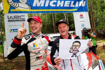 """WRCタイトル獲得に豊田章男社長が喜びのコメント。「トミたちとの""""約束""""は、今回の勝利で終わるものではありません」"""