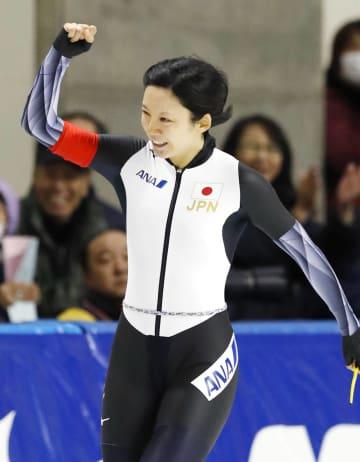 여자 1000m, 다카기 미호 2위