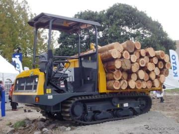 2018森林・林業・環境機械展示実演会