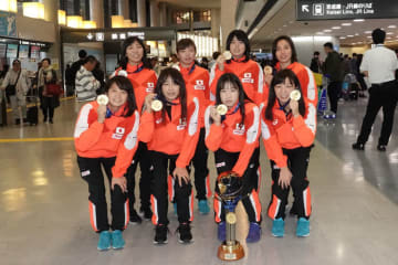 メダル獲得の選手たち