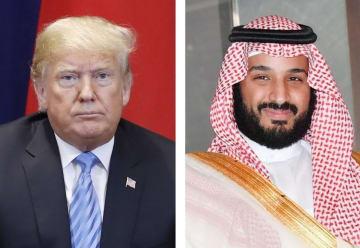 トランプ米大統領、サウジアラビアのムハンマド皇太子