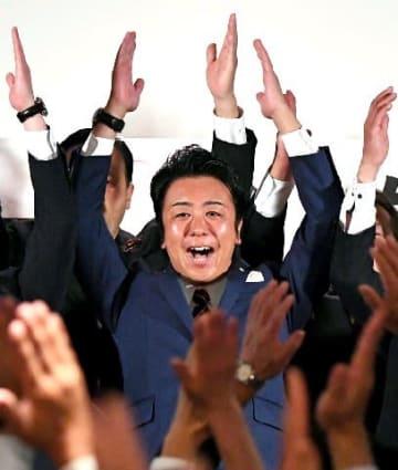 福岡市長に高島氏3選 史上最多の28万票超 投票率は過去最低31・42%