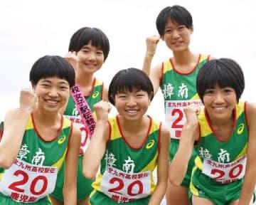 樟南、3年ぶり全国へ 原田姉妹が力走 全九州高校駅伝・女子