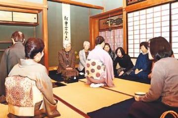 心尽くしの一服味わう 富山 内山邸茶会に70人