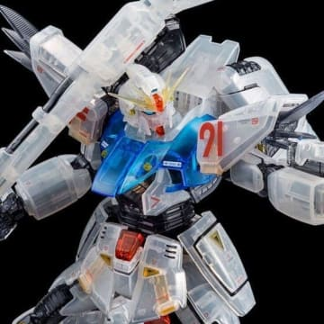 「MG 1/100 ガンダムF91 Ver. 2.0(残像イメージカラー)」4,320円(税込)(C)創通・サンライズ