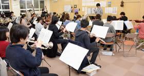 本番に向け練習に熱が入る室工大管弦楽団