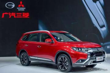 三菱 アウトランダー 改良新型の中国仕様(広州モーターショー2018)
