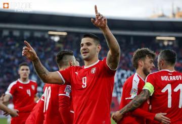 勝てば文句なしの昇格が決まるセルビア