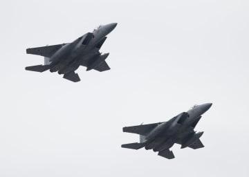 航空自衛隊のF15戦闘機