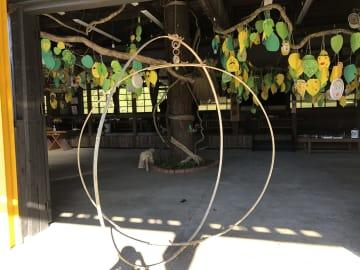 展示物の目玉はスマイルツリー