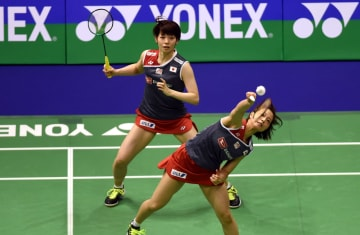 福島·広田組が優勝 女子ダブルス バドミントン香港オープン