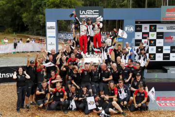 トヨタ GAZOO Racing World Rally Team | WRC 第13戦 ラリー・オーストラリア