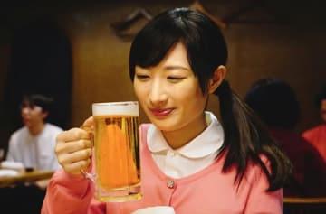 ドラマ「ワカコ酒 Season4」で主演を務める武田梨奈さん (C)2019「ワカコ酒4」製作委員会