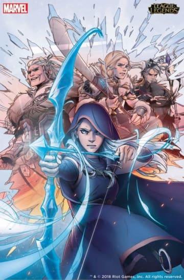 Riot Gamesがマーベルと共同で『リーグ・オブ・レジェンド』のコミック制作を発表!―第1弾の主人公は「アッシュ」