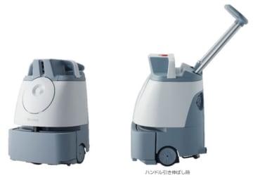 バキューム清掃ロボット「Whiz」。(画像:ソフトバンクグループ発表資料より)