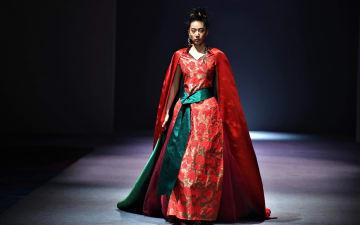 AJ-NAMOチベット族ファッションショー開催 チベット自治区ラサ市