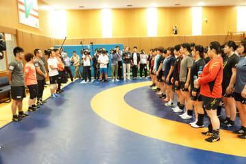 全日本選手権まで約1ヶ月、大会前の最後の全日本合宿がスタート