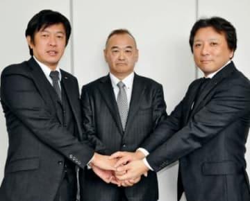 相馬の建設2社1月合併 小野中村と平沢