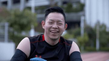 若山英史選手(ウィルチェアーラグビー)