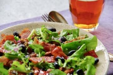 おつまみレシピ 黒豆とドライいちじくの美肌サラダ