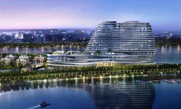 広州市で開業予定のホテルのイメージ図(プリンスホテル提供)