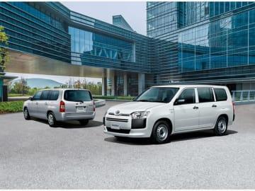 トヨタのコンパクトなコマーシャル・バン「プロボックス」「サクシード」に加わったハイブリッド車