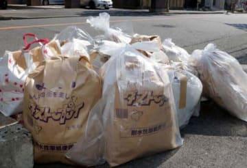 紙袋かポリ袋か。ルールの曖昧さが指摘されていた広島市の可燃ごみ