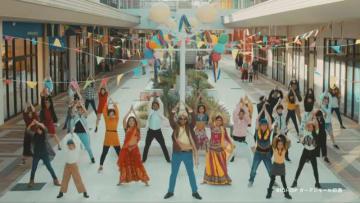 ボリウッド映画風に制作されたプロモーション動画「印度じゃないよ、印西市」のワンシーン
