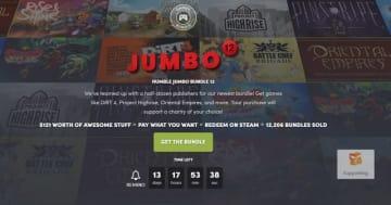 ジャンル様々な大型バンドル「HUMBLE JUMBO BUNDLE 12」開始!ACTからレース、ローグライクなど