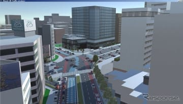 シミュレーション請負業務サービスにて作成した3Dアニメーションイメージ