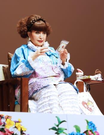 人気番組「世界ふしぎ発見!」の裏話などで観客の笑いを誘った黒柳徹子さん