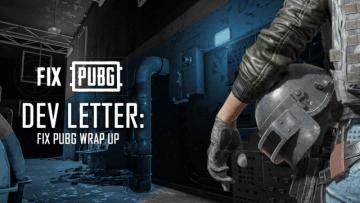 『PUBG』「FIX PUBG」キャンペーンが完了―マッチメイキングなど次なる目標も