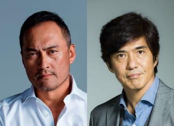 映画「Fukushima50」主演の佐藤浩市さん(右)と共演の渡辺謙さん(左) 提供写真