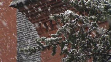 寒気南下で本州初雪 北海道は積雪も 各地で今季一の寒さ
