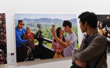第12回中国撮影芸術祭開幕 河南省三門峡市